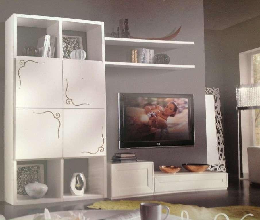 Parete attrezzata moderna porta tv plasma lcd soggiorno for Soggiorni componibili
