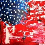 BELIEVE IN GALLERY: LAND OF LIBERTY. ART BY LUZ APONTE