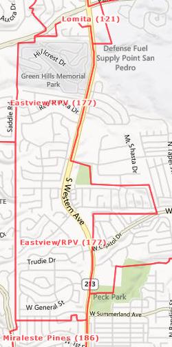 Eastview Rancho Palos Verdes, CA  90275