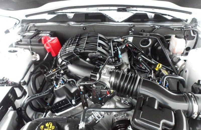 Mustang silnik
