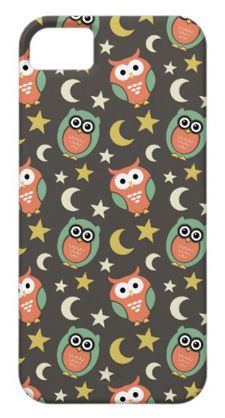 night owl cartoon iphone 5 case
