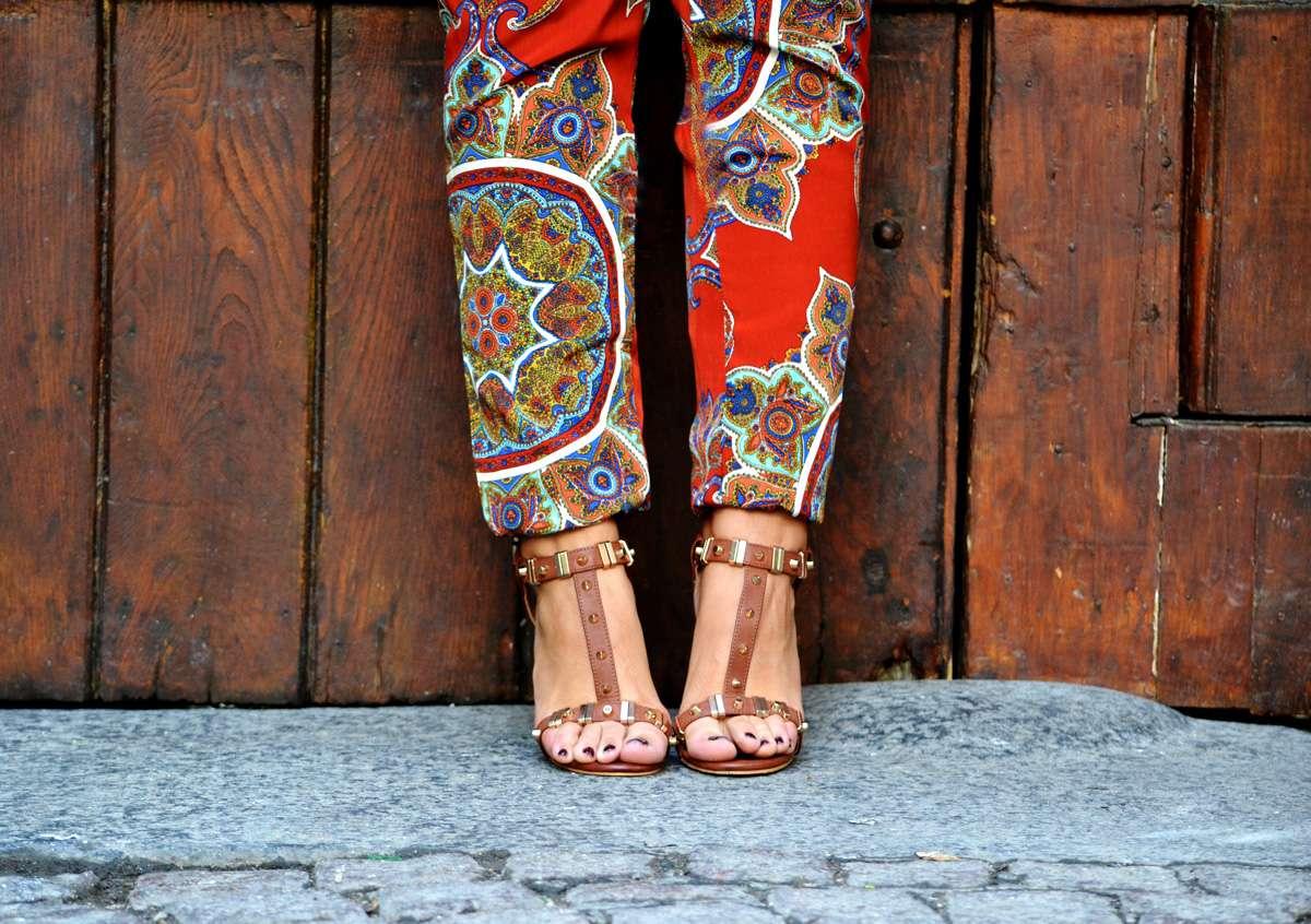 studded heels fashion