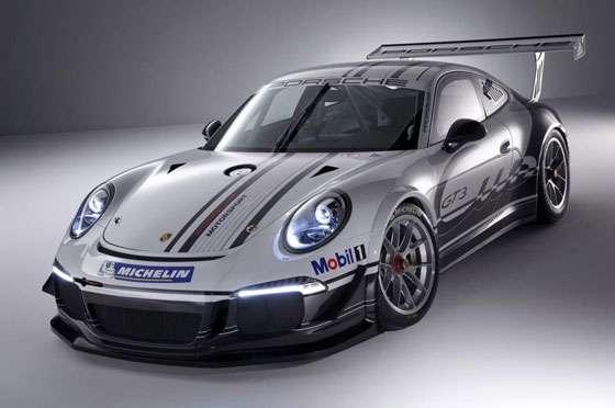 2013 Porsche 911 GT3 Cup Car