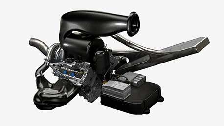2014 Renault F1 V6 turbo engine