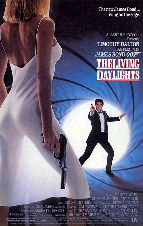 James Bond 007 The Living Daylights Poster