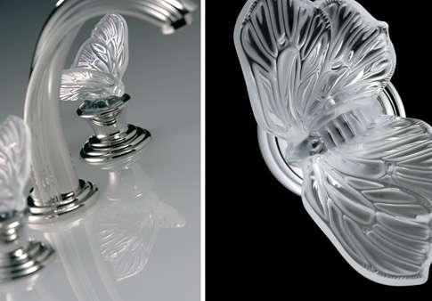 Lalique bath fixture