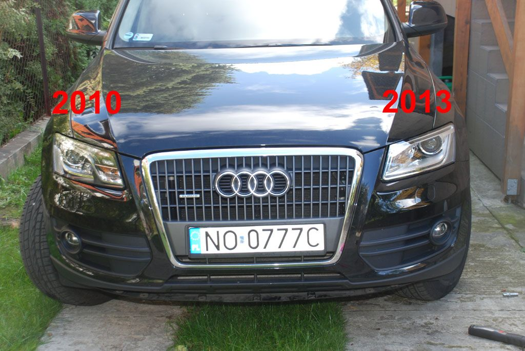 Audi Q5 Swapping 2013 Headlights To A 2009 2012 Almost