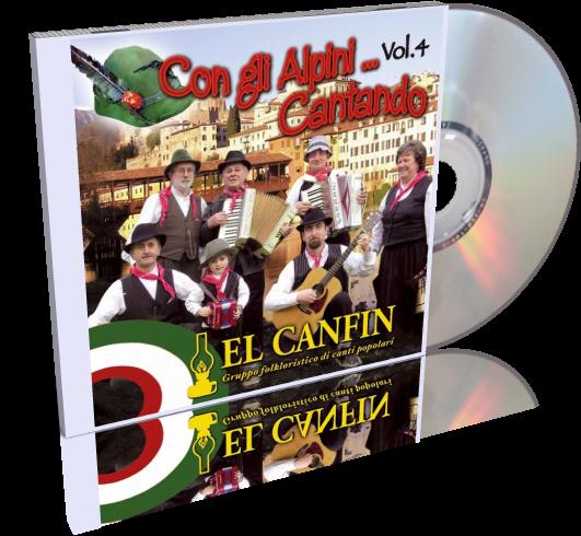 El Canfin - Con gli Alpini Cantando Vol.4 (2008)