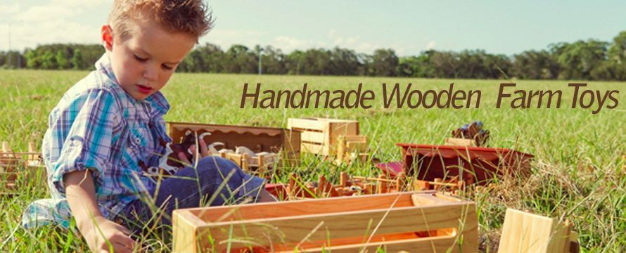 Handmade Wooden Toys And Trucks
