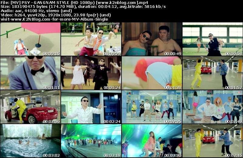 [MV] PSY - GANGNAM STYLE (HD 1080p Youtube)