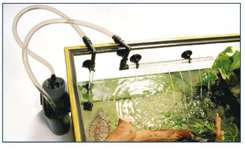 Eden 501 filtro esterno per acquario dolce marino acqua for Acquario con filtro esterno