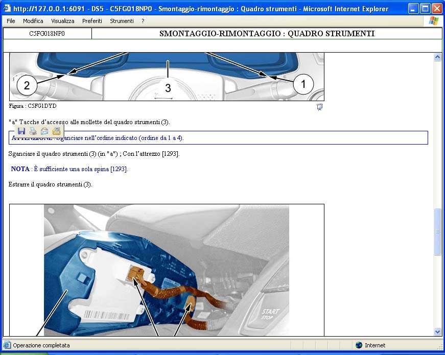 CITROEN    service box 9  2012 last version