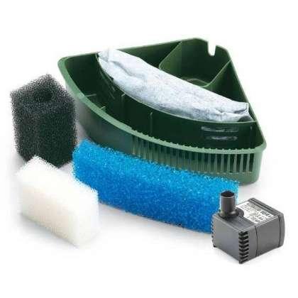373 eden filtro interno tartarughiera acqua terrario con for Pompa tartarughiera