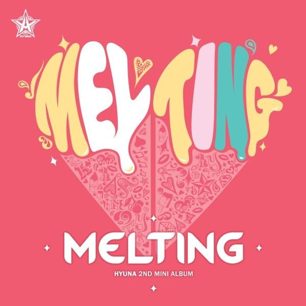 [Mini Album] HyunA - Melting