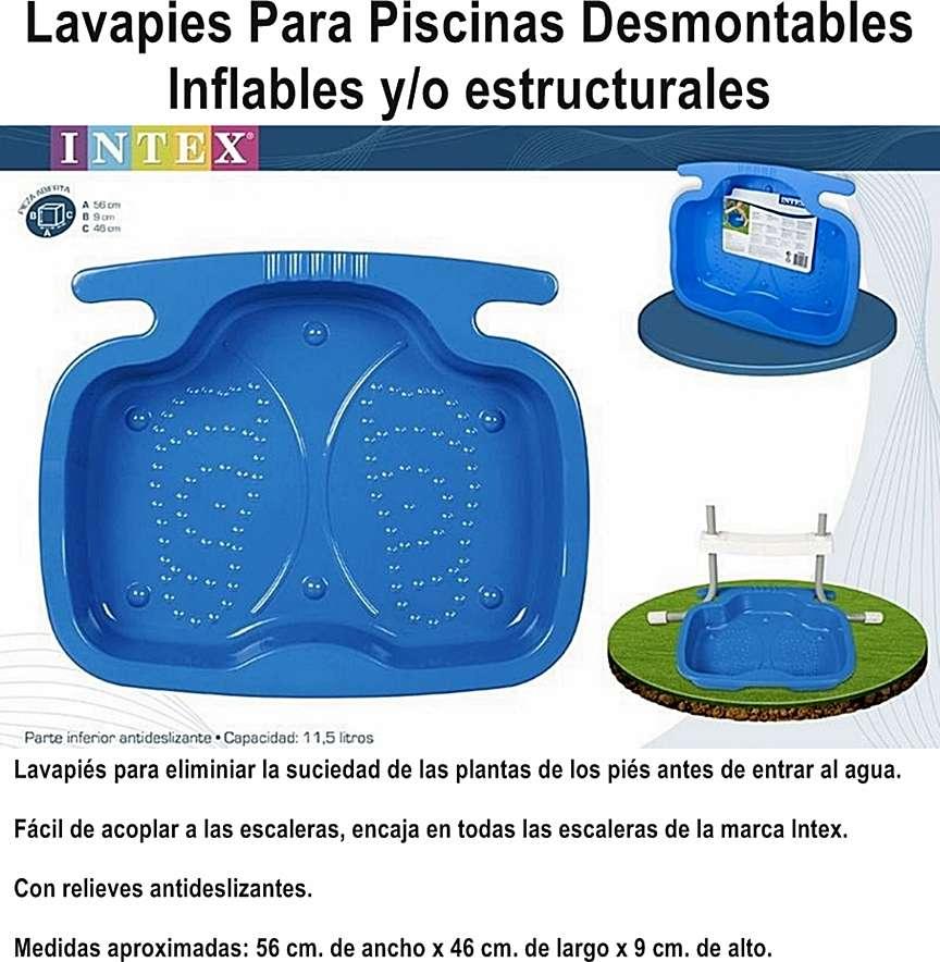 Base lavapies mantenimiento para piscina intex best way for Precio mantenimiento piscina