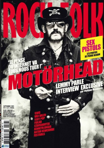 Rock & Folk – Septembre 2015