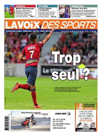 La Voix Des Sports Du Lundi 31 Août 2015