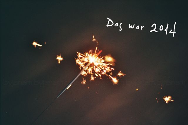 Wunderkerze 'Das war 2014'