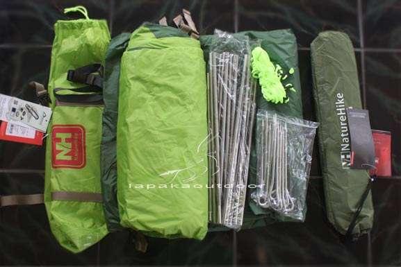 perlengkapan hiking tenda gunung