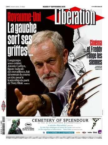 Liberation Du Mardi 1 Septembre 2015