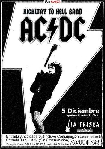 Tributo AC/DC cartel