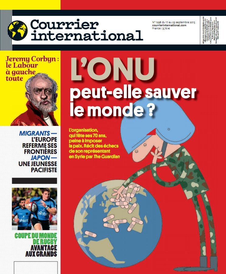 Courrier international 1298 du 17 au 23 septembre 2015