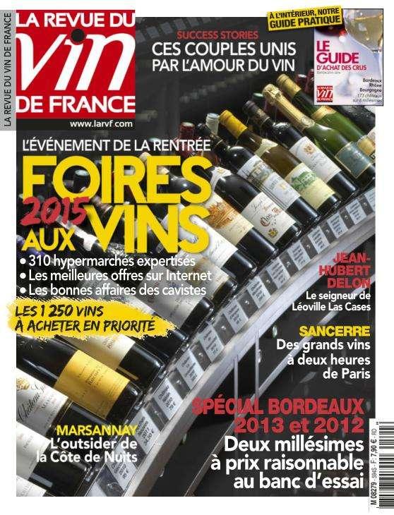 La Revue du Vin de France - Septembre 2015