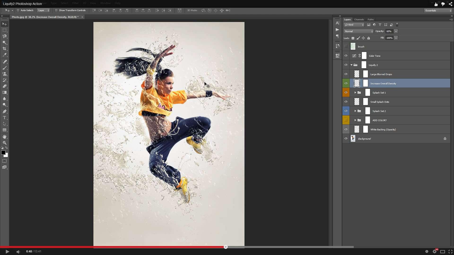 Liquify 2 Photoshop Action