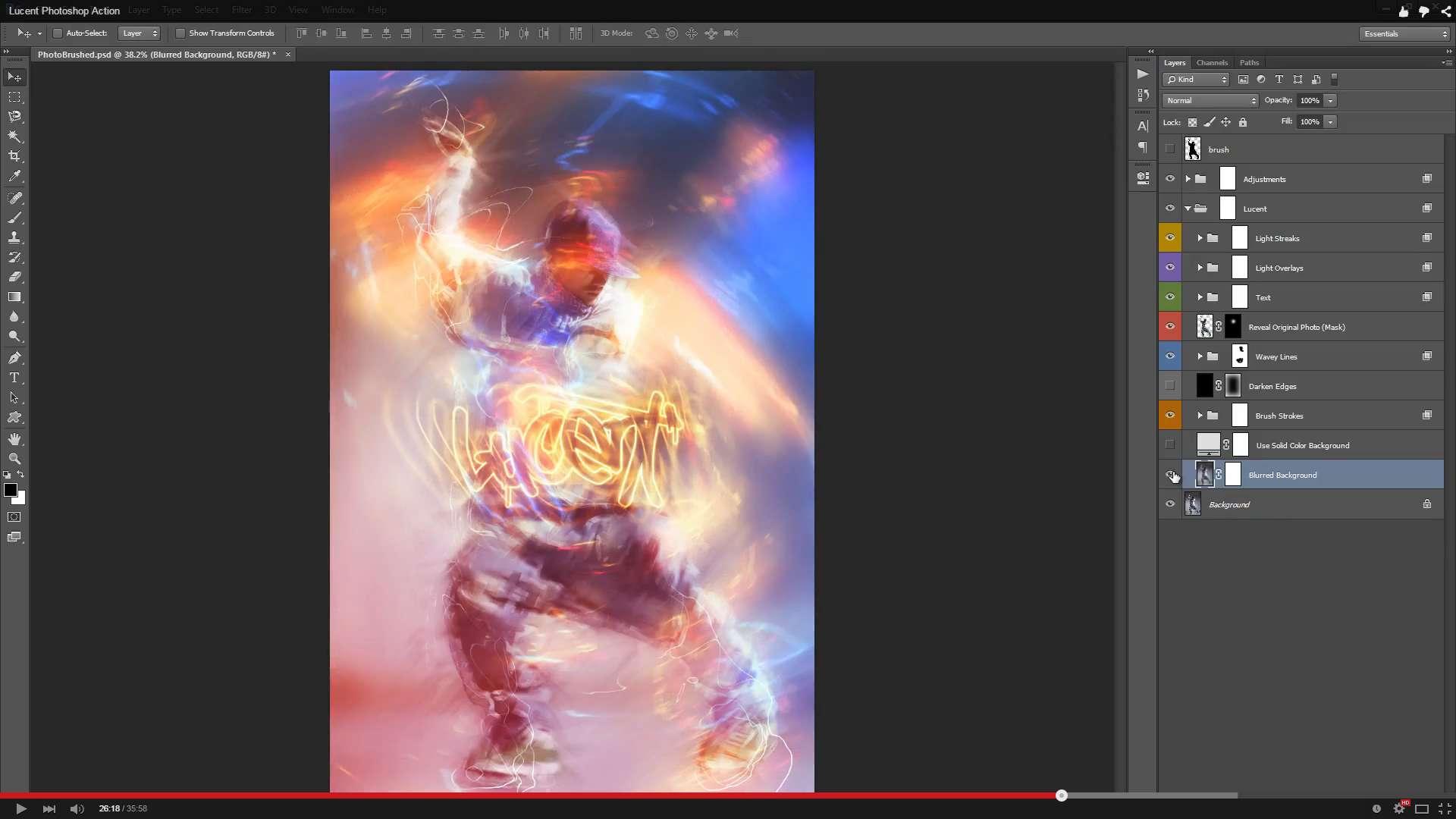 Lucent Photoshop Action