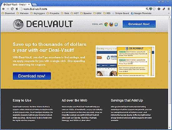 Remove DealVault