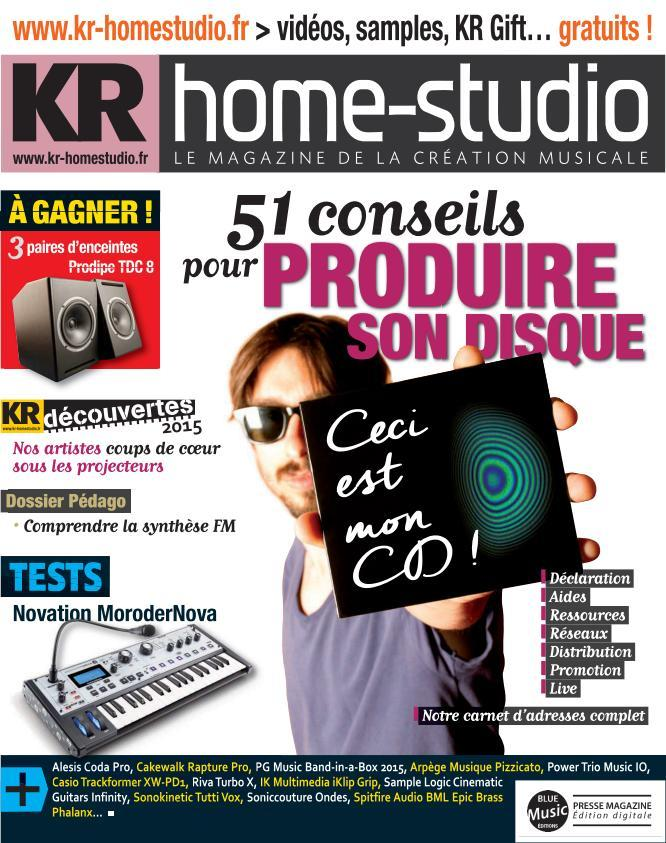 KR Home-Studio - Octobre 2015