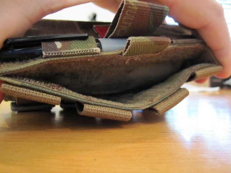 Admin slip pocket