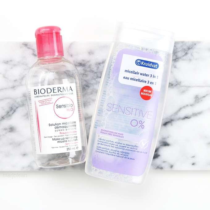 make up remover zonder parfum en alcohol