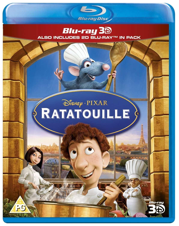 Ratatouille (2007) BDRA 3D BluRay Full AVC DTS ITA DTSHD ENG Sub - DDN