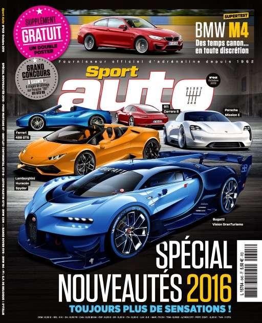 Sport Auto 645 - Octobre 2015