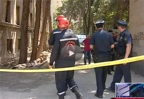 სპორტის სასახლის მიმდებარე ტერიტორიაზე შენობა ჩამოინგრა, გარდაცვლილია 3 მშენებელი