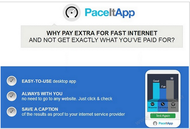Remove PaceItApp Ads