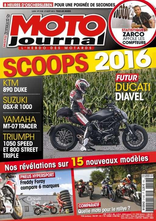 Moto Journal 2158 - 27 Août au 2 Septembre 2015