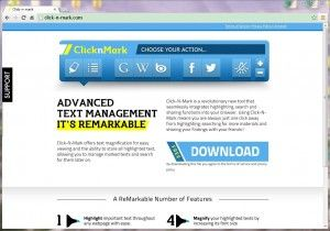 Remover Anúncios do clicknmark