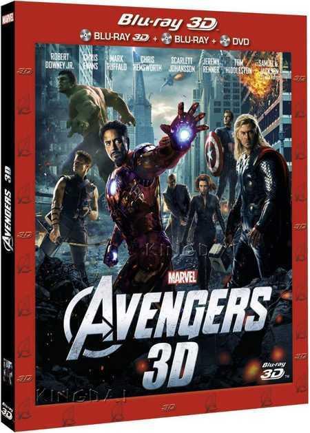 The Avengers 3D (2012) Blu Ray Full 3D AVC DTS-HD ITA ENG Sub - DDN