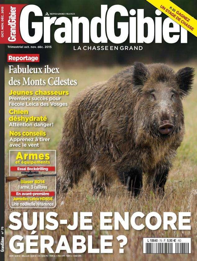 Grand Gibier - Octobre-Décembre 2015