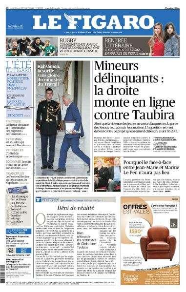Le Figaro Du Jeudi 20 Août 2015