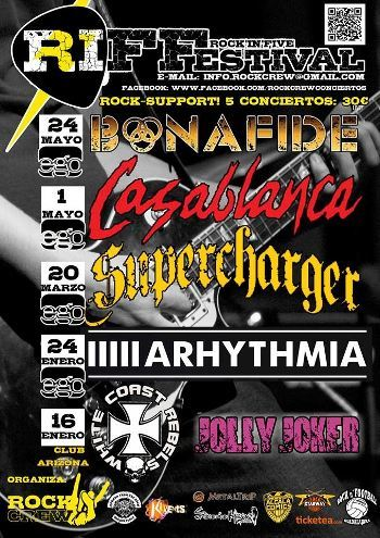 Rock'in Five Festival cartel