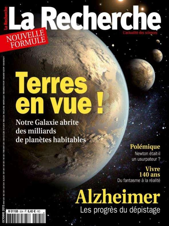 La Recherche 504 - Octobre 2015