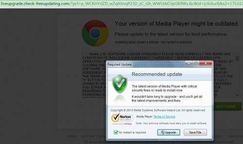 Remove Liveupgrade.check-freeupdating.com