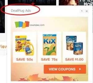 Usuń DealPlug reklamy