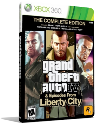 [XBOX360] Grand Theft Auto IV: Complete Edition (2010) - SUB ITA