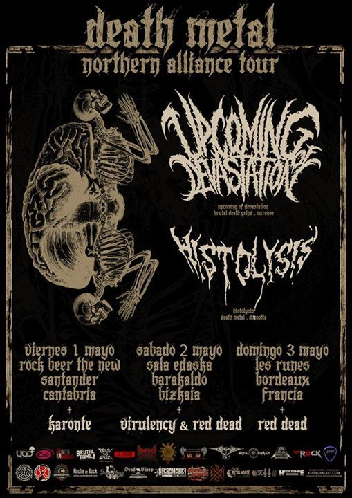 Upcoming of Devastation gira