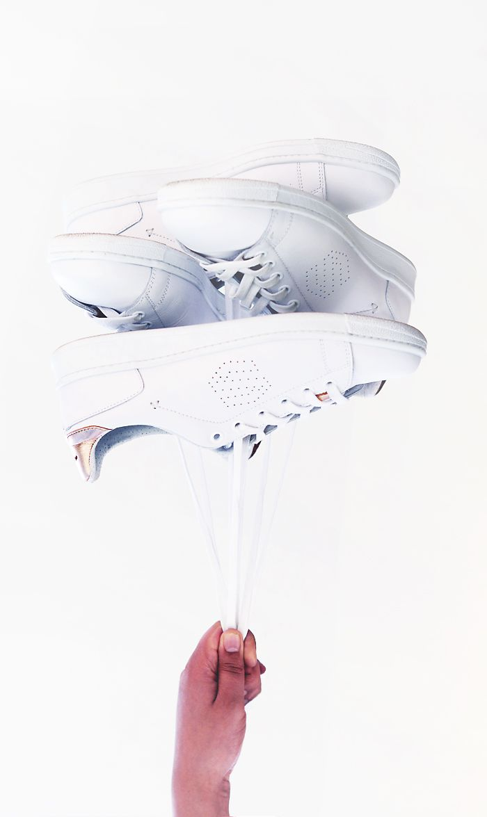 sacha est. 1909, white sneakers, white sneaker balloon, sacha sneakers - justlikesushi.com