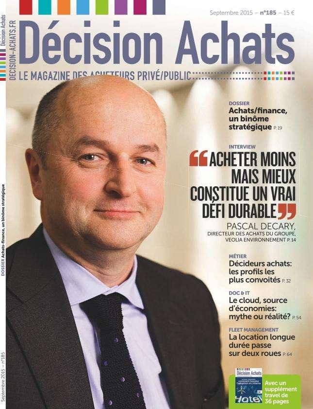 Décision Achats - Septembre 2015